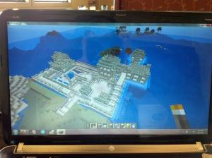 My First Castle in Minecraft