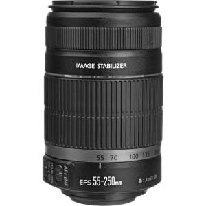 250mm lens